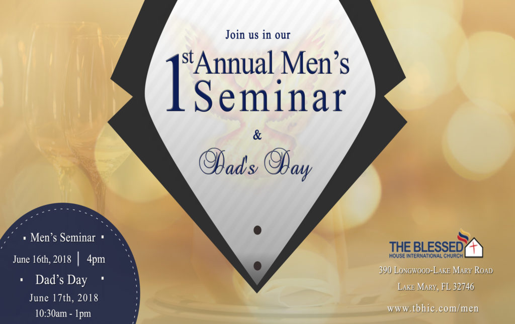1st annual men's seminar