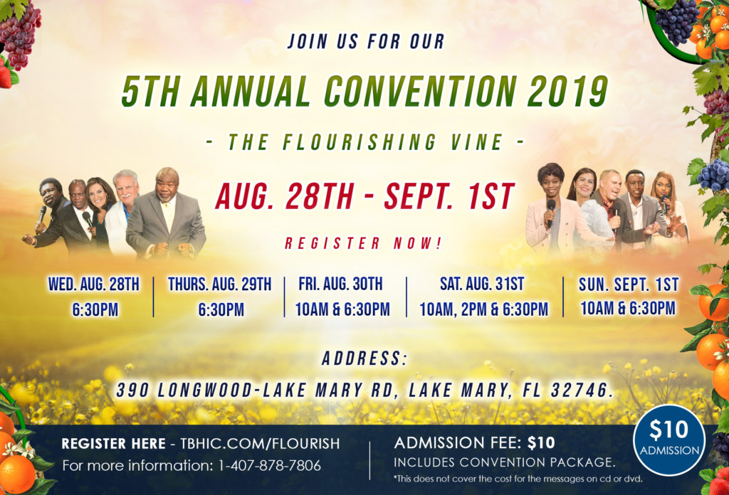 5th Annual Convention 2019