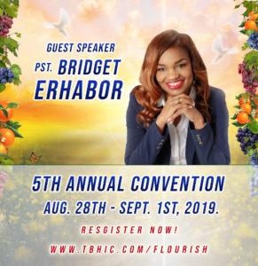 Pastor Bridget Erhabor 5th Annual Convention 2019