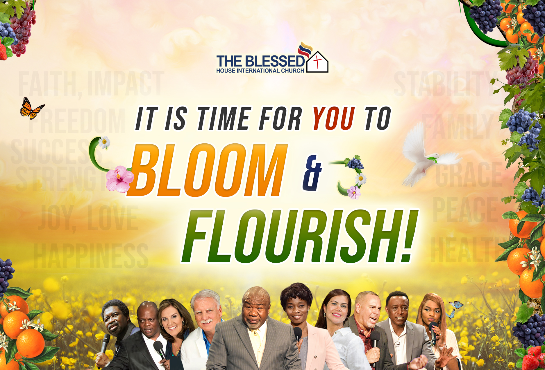 5th Annual Convention It's time to bloom