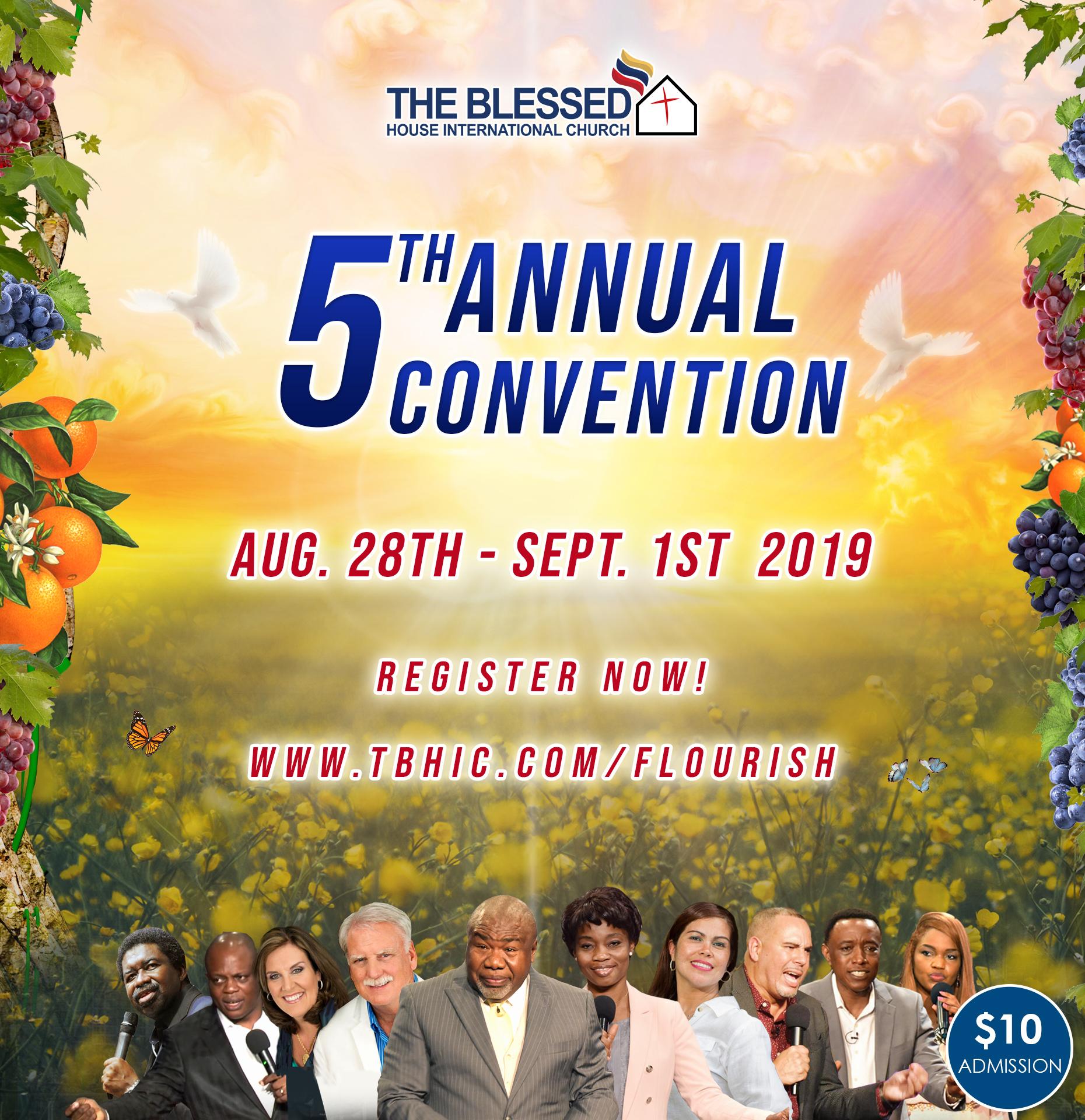 5th Annual Convention 2019
