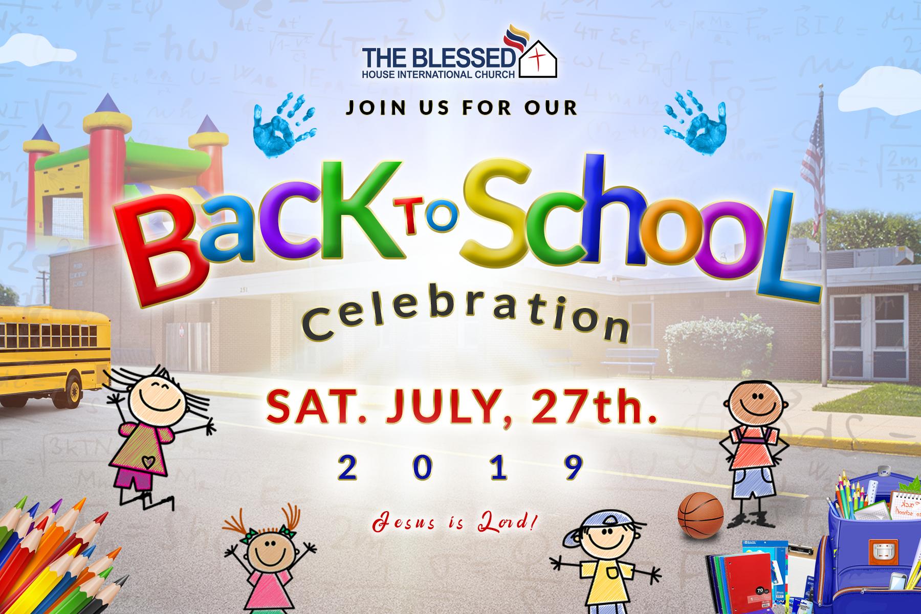 Back to School celebration 2019